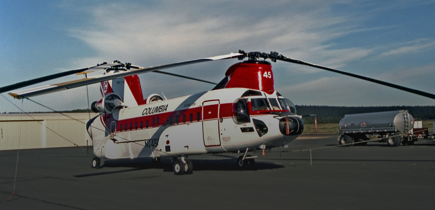 Columbia Helicopters - Advanced Finishing Systems Customer